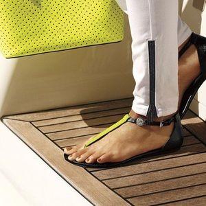 Michael Kors Bridgette Neon Thong Sandal